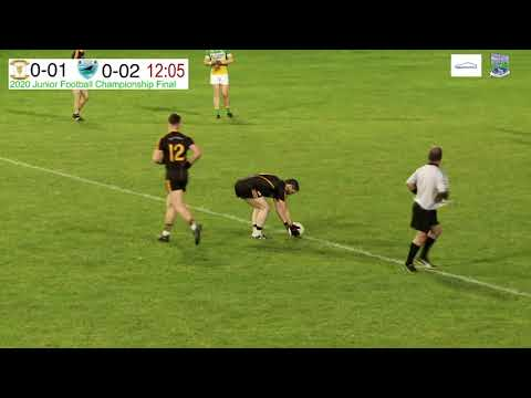 Fermanagh Junior Football Championship 2020 Final Replay LIVE - Coa O'Dwyers v Derrylin O'Connells.