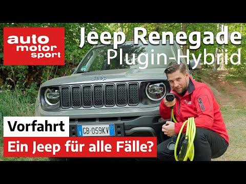 Jeep Renegade 4xe Plugin-Hybrid - ein Jeep für alle Fälle? | auto motor und sport