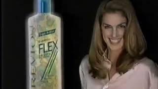 Супермодель Синди Кроуфорд / Revlon Flex Commercial w  Cindy Crawford 1995