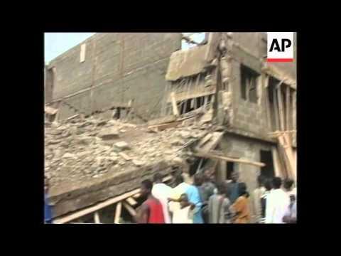 NIGERIA: LAGOS: BUILDING COLLAPSE: SITUATION UPDATE