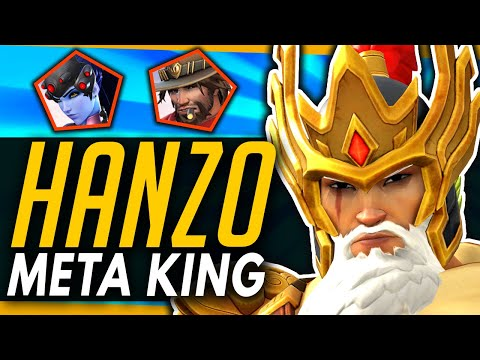 Overwatch | Hanzo Is The KING Of The Meta + How To Beat Bunker (ft Arrge)