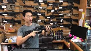 ปืนแบลงค์กันM4 AKSA Crossfire