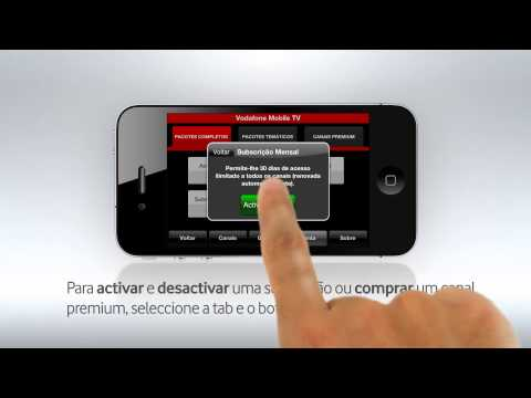 Video of Vodafone Mobile TV
