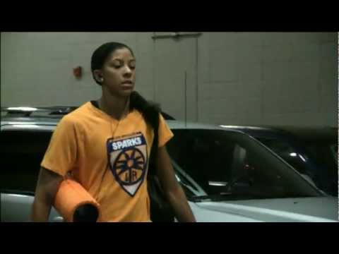 WNBA Action: Inside the Action Los Angeles Sparks!