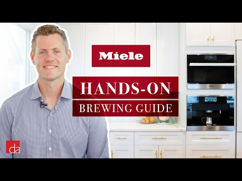 Miele Built-In Coffee System - Brewing & Aromatics