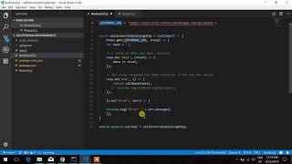 Call External API Using Node Js https & request module