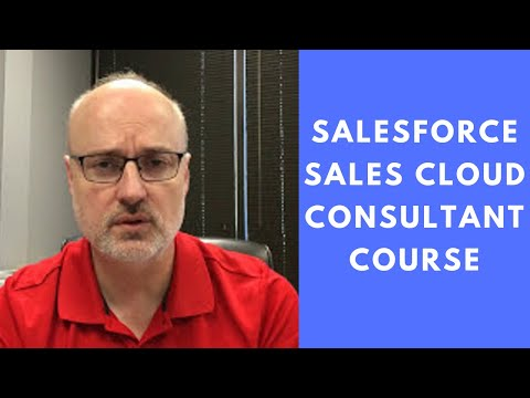 Salesforce Sales Cloud Consultant Course - Just Released - YouTube