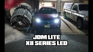 XSpeed X8 LED Headlight Bulbs | 2012 Acura TSX | Review