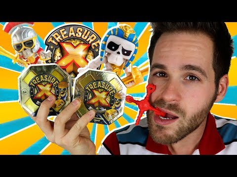 Treasure X Series 1 UNBOXING 2 CAJAS SORPRESA | Mega UNBOXING Treasure X Hunting en Pe Toys