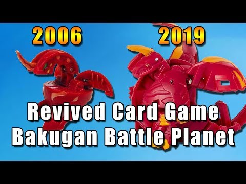 Revived Card Game: Bakugan Battle Planet