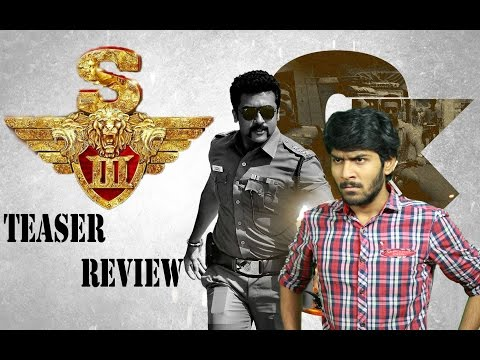 S3 Aka Singam 3 Teaser Review By Review Raja