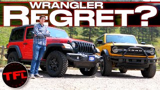 Do I Regret Buying My Brand New Jeep Wrangler After Living With The New Ford Bronco For a Week?