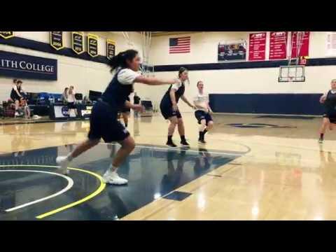 Smith Basketball Team Practice Visit