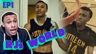 """""""Everyone's Tryna GO AT Me!"""" RJ Hampton BATTLES With Tyrese Maxey! RJ Stars In His Own REALITY SHOW!"""