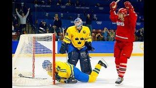 20.02.2002. Олимпиада. Хоккей. Беларусь - Швеция (БТ, Владимир Новицкий)