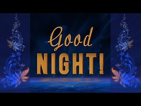 💫🌜 Good night! Sweet Dreams!💫🌜 Best Animated Greeting Card