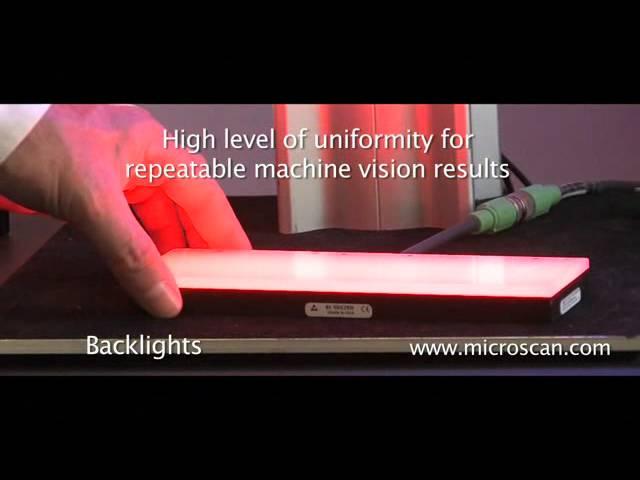 Microscan NERLITE Backlights