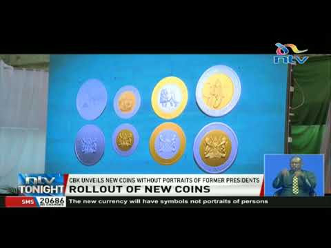 CBK unveils new coins without portraits of former presidents