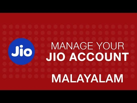 How to Manage your account using MyJio app?