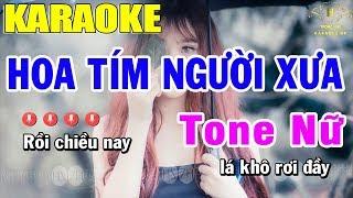 karaoke-hoa-tim-nguoi-xua-tone-nu-nhac-song-trong-hieu