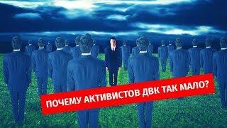 ПОЧЕМУ АКТИВИСТОВ ДВК ТАК МАЛО / 1612