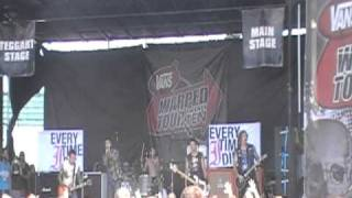 Every Time I Die - No Son Of Mine - Warped Tour Pomona, CA 08/11/2010