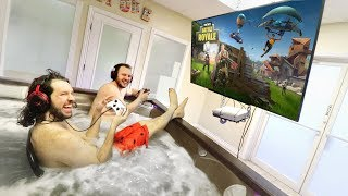 HOT TUB GAMING THRONE o_O