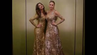 OMG What Is Priyanka Chopra And Sofia Vergara Doing In An Elevator  Golden Globes Awards 2017