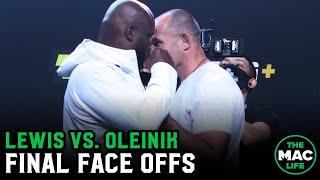 UFC Vegas 6: Lewis Vs. Oleinik Final Face Offs