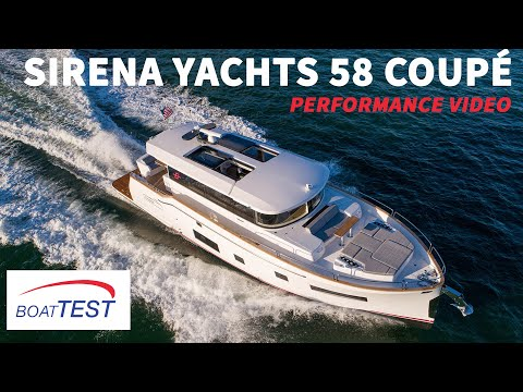 Sirena Yachts 58 Coupé (2021) - Test Video