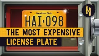 The $14.3 Million Worlds Most Expensive License Plate