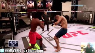UFC - UFC Career Mode Ep.1 - DANG WANG DIARIES | UFC Fights 2014
