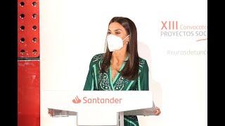 """Acto de clausura de la XIII convocatoria anual de """"Proyectos Sociales de Banco Santander"""""""