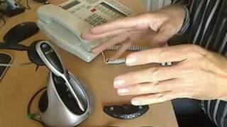 How to connect a wireless headset to a phone with a dedicated headset port.mp4