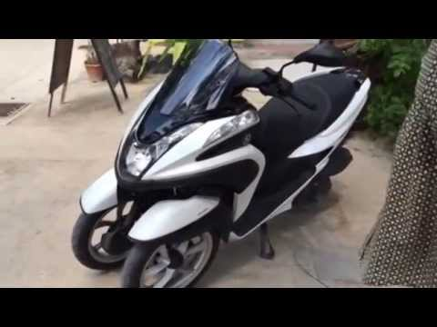 Yamaha Tricity Motorscooter Review