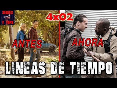 FEAR The Walking Dead 4x02 LÍNEA de TIEMPO y ANÁLISIS | Series y Tops