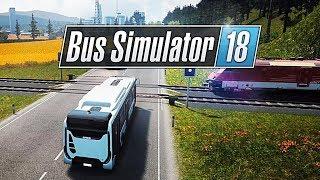 ЖЕЛЕЗНОДОРОЖНАЯ СТАНЦИЯ - Bus Simulator 18 [#11]