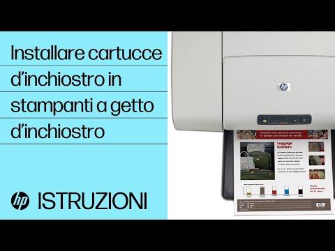 Installazione delle cartucce di inchiostro nella tua stampante a getto di inchiostro
