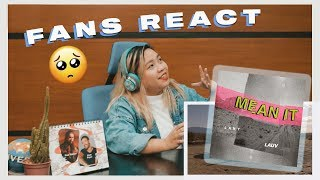 Music Fans React To: Mean It By LAUV & LANY