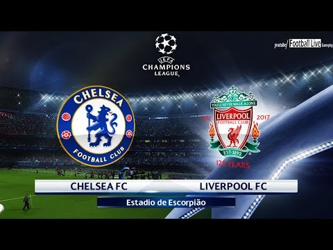 PES 2018 | Chelsea FC vs Liverpool FC | UEFA Champions League (UCL) | Gameplay PC
