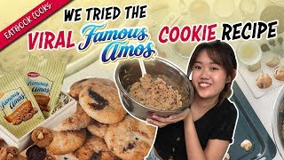 We Tried The Viral Famous Amos Cookie Recipe | Eatbook Cooks - Circuit Bakers | EP 25