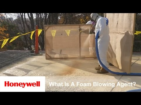 What is a Spray Foam Blowing Agent?