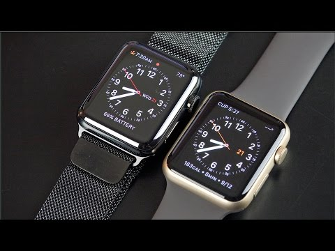 Apple Watch Series 1 vs Series 2: Unboxing & Review