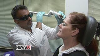 New laser gets rid of age spots with little or no downtime