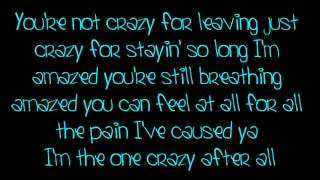 Daughtry- Crazy Lyrics