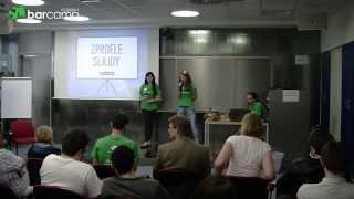 preview picture of video '#zprdeleslajdy - Plzeňský Barcamp 2014 - Kolda'