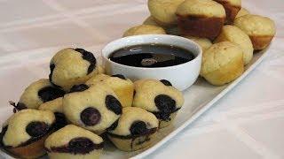 Pancake Mini-Muffins -- Lynns Recipes