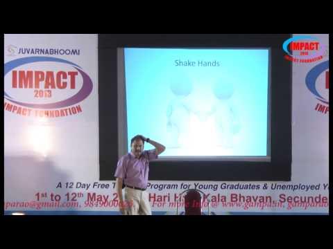 Body Language|Ram Jaladurgam|TELUGU IMPACT Hyd 2013