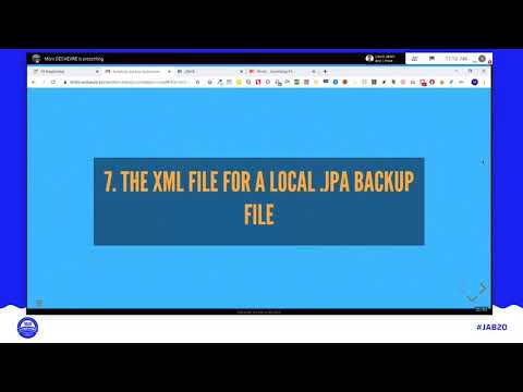 JAB20 – Automate backup restoration (and make it easy to help testing Joomla before new releases)
