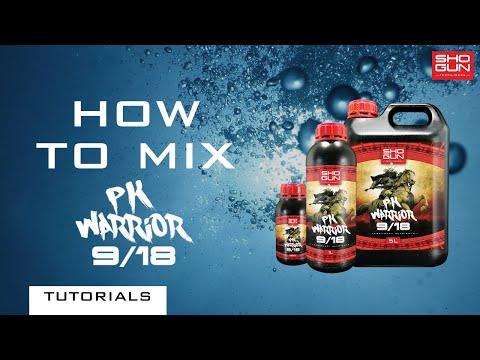 How to mix SHOGUN PK Warrior - Phosphorus and Potassium Additive